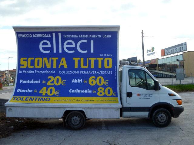 Liquidazione totale spaccio aziendale Tolentino (MC)