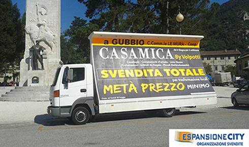 Camion vela svendite promozionali