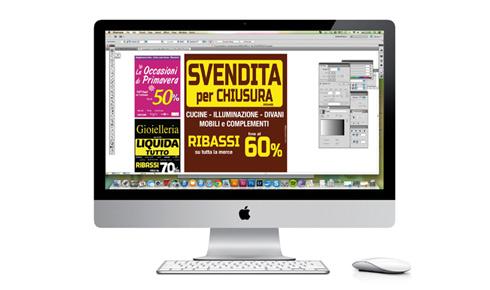 grafiche personalizzate per svendite promozionali